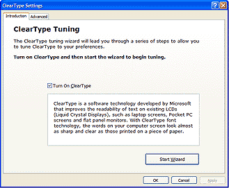 cleartype tuner powertoy for windows xp
